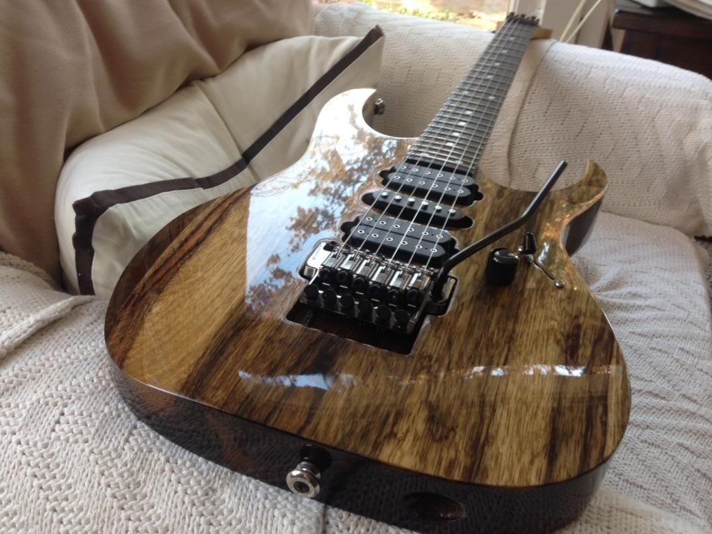Mai Guitar Natural Finish Guitars